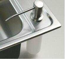 Опт розница палуба никель кухонная жидкого гора мыла раковина продвижение бутылки