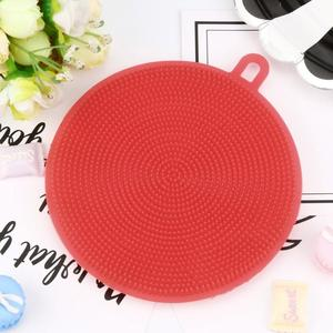Image 4 - Silicone Dish Washing Sponge Scrubber Kitchen Cleaning antibacterial Strong effect to Grease Tool Kitchen accessories