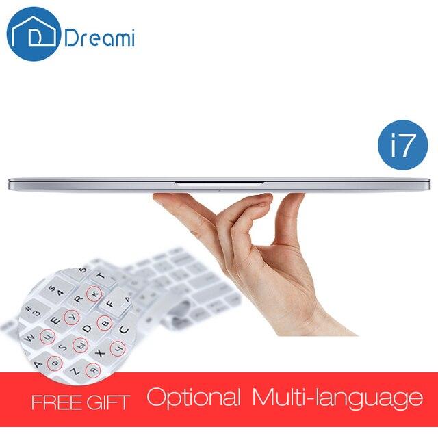 Dreami Original Xiaomi Mi Notebook Air 13.3 Pro Intel Core  i7-6500U CPU 3.0GHz Ultrathin Laptop 8GB RAM 256GB SSD Windows 10