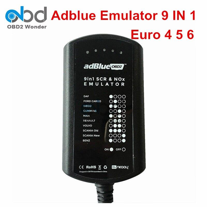 Prix pour Meilleur Prix Adblue Émulateur Euro 6 Adblue 9 En 1 Mieux Que Ad bleu 8 En 1 Adblue 9in1 Pour Volvo Pour Scania Camions Lourds
