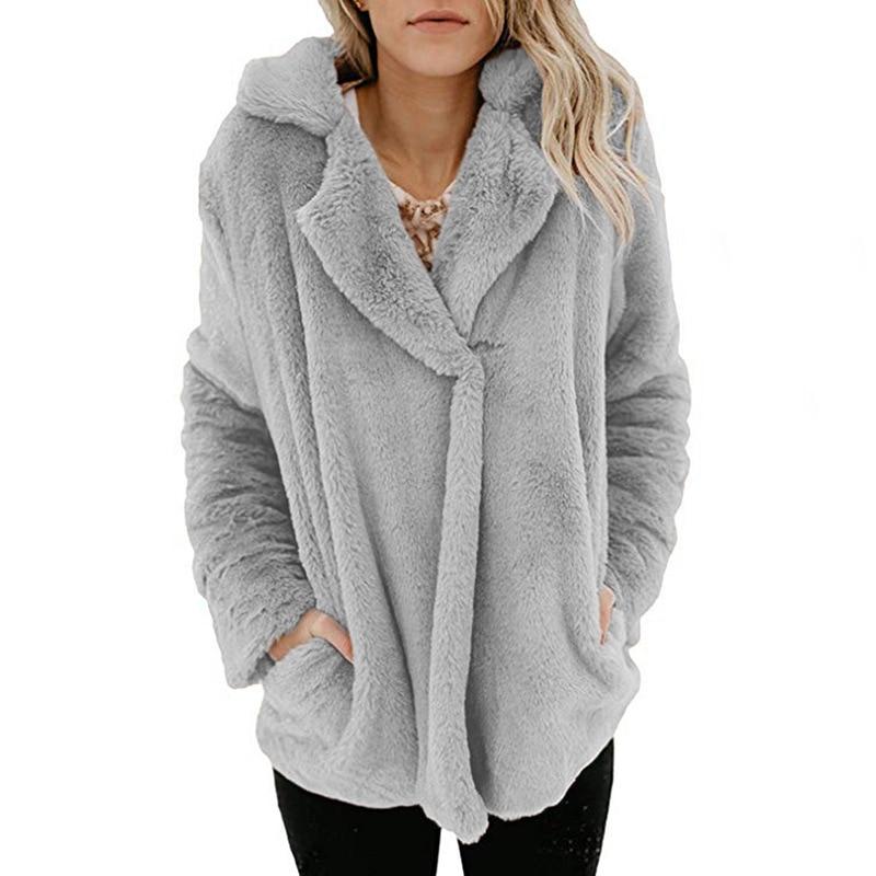 Detail Feedback Questions about Cardigan Women Sweater Winter Female  Fashion Warm Cotton Sweaters Ladies Winter Jackets Pockets Fleece Coats Fur  Cardigans ... f747222f6
