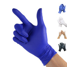 100pcs PVC/Nitrile/Latex Gloves Disposable Gloves For Home Cleaning Rubber Medical Glove for work/Laboratory/Garden S/M/L 100pcs 50pair disposable latex gloves medical laboratory food process clean tattoo rubber protective gloves s m l size