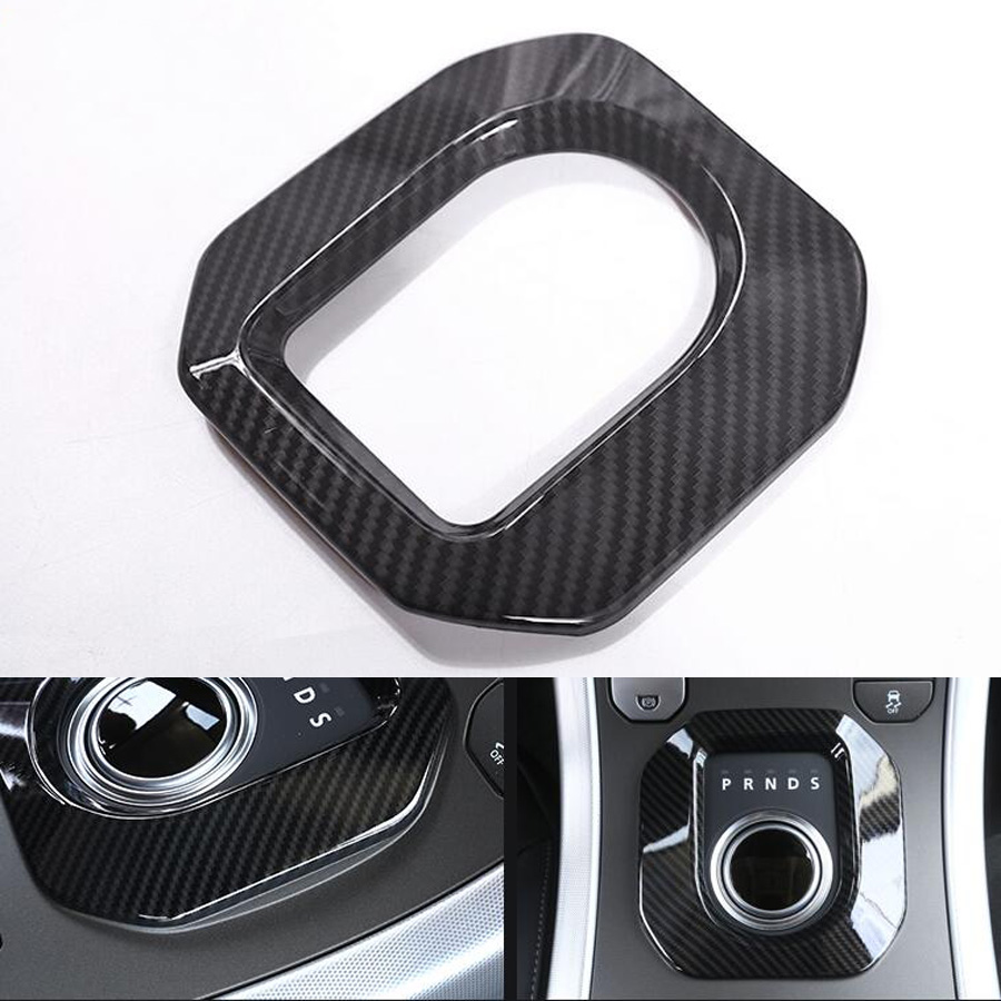 YAQUICKA Car Gear Shift Panel Frame Trim Car-covers Styling Sticker For Land Rover Range Rover Evoque 2012-2017 Auto Accessories newest for land rover range rover evoque abs center console gear panel chrome decorative cover trim car styling 2012 2017 page 3