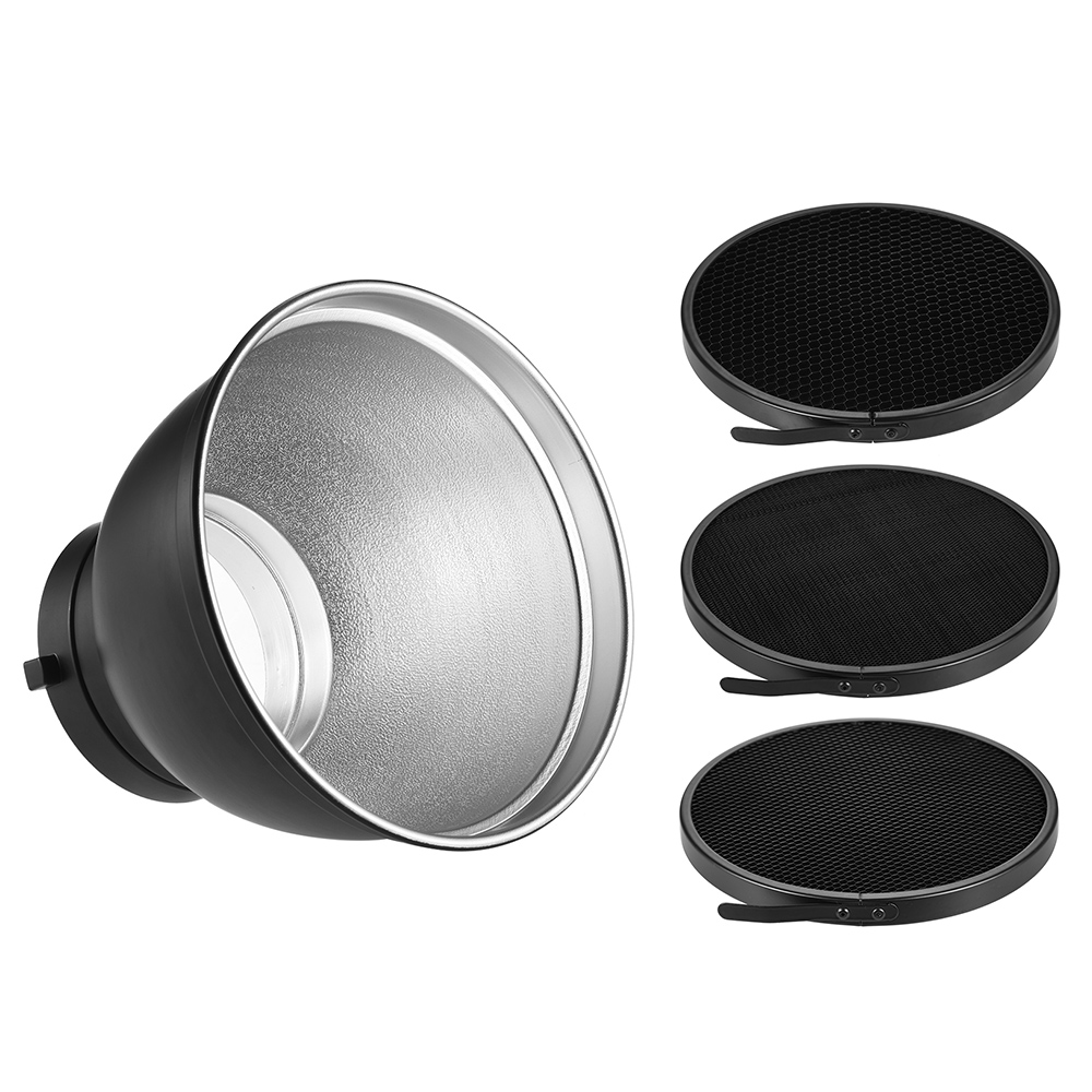 Haoge 7 Standard Reflector Diffuser Lamp Shade Dish For