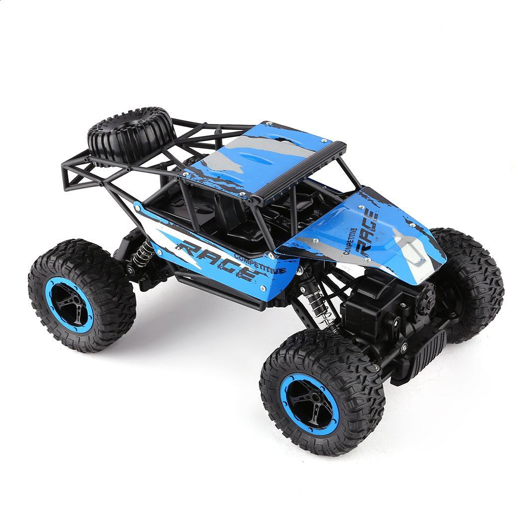 Interesting Kids Children Boys Rock Crawler Auto New Truck Chargable Cars Toys Set