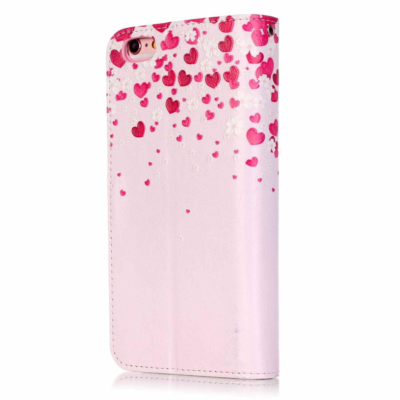 9 posiadaczy kart portfel etui na Apple iPhone 6 S 6 Plus 5.5 cal luksusowe PU skórzana klapka dla iPhone 6 Plus pokrywa coque Fundas