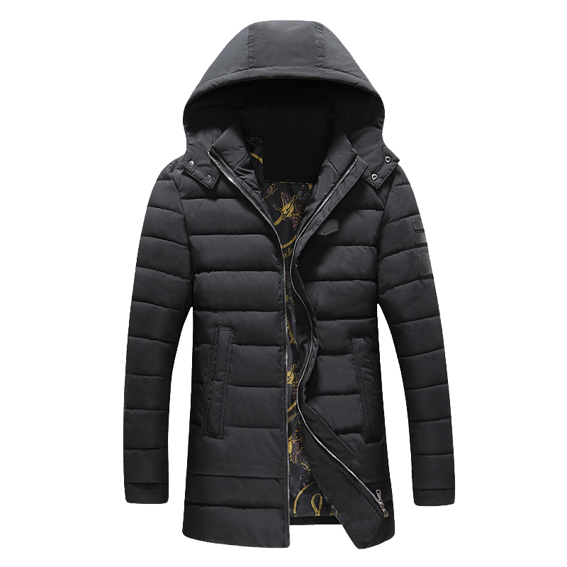 ФОТО New Fashion Men's Parka Autumn Winter Thicken Warm Jacket Mens Clothes Trend Hooded Detachable Mens Winter Jackets And Coats 6XL