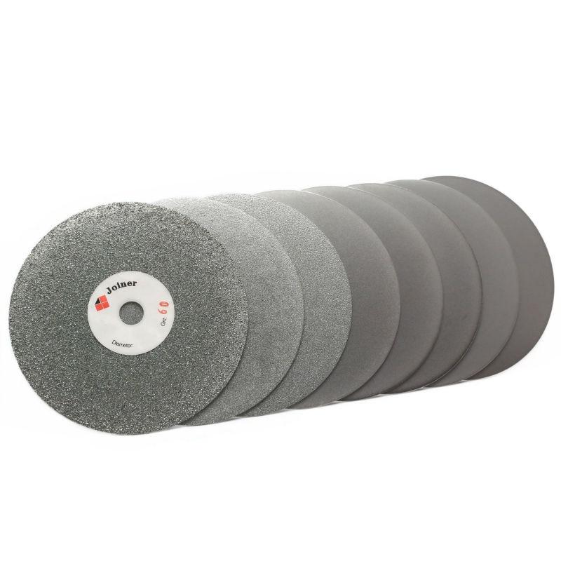 6-tolline 150 mm Grit 60-3000 teemantlihvkettaga lihvkettaga abrasiivne pinnakattega lapike kive vääriskivide ehete klaaskivikeraamika jaoks