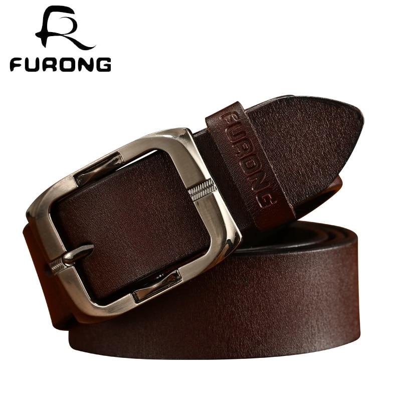 Original Brand Cowhide Pin Buckle Designer Belts Fashion Women Belts Jeans Vintage Style All-match Belt Fashion Genuine Leather