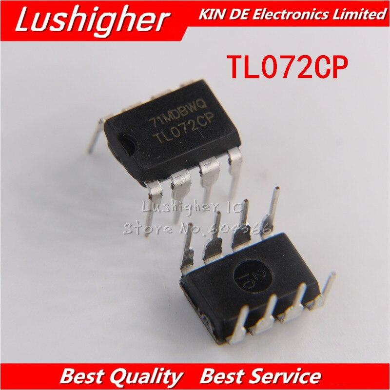 100PCS TL072CP DIP8 TL072 DIP IC new original