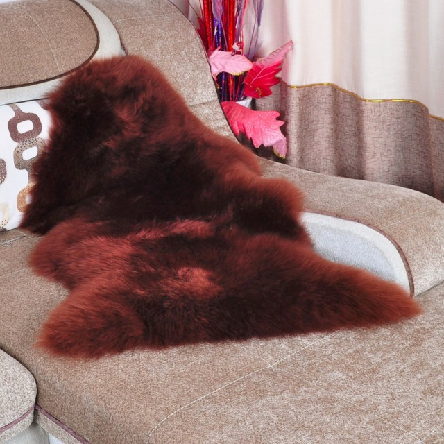 Australia Sheepskin Rug Sheep Skin Carpet Real Fur Blanket Rugs And Carpets For Living Room Floor