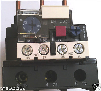 Schneider Thermal Overload Relay LRD3363C 63-80A New in box