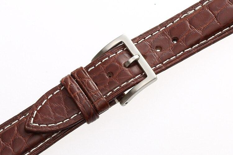 Jacaré Luxo Chopard Longines Assista Bracelete Pulseiras