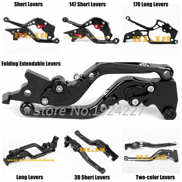 For Honda XR650L XLR 650 125 XLR125 R W XR 400 XR400 RV RW RX RY R1 R3 R4 CNC Motorcycle 7 Different Style Clutch Brake Levers