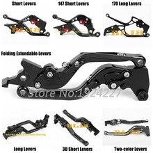 สำหรับ Honda XR650L XLR 650 125 XLR125 R W XR 400 XR400 RV RW RX RY R1 R3 R4 CNC รถจักรยานยนต์ 7 สไตล์คลัทช์เบรค Levers