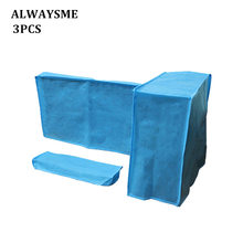 Protector Computer-Dust-Cover 21inch HP ALWAYSME Lenovo Benq 3pcs-Set Fits Sumsung Universal