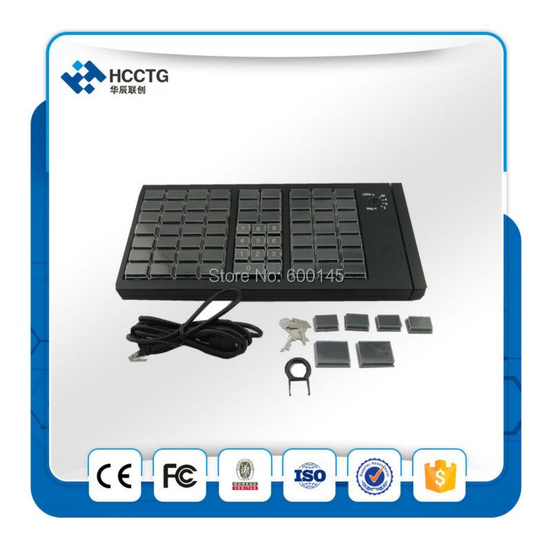 KB66 clavier de programmation USB clavier mécanique Programmable POS sans lecteur de carte MSR - 2
