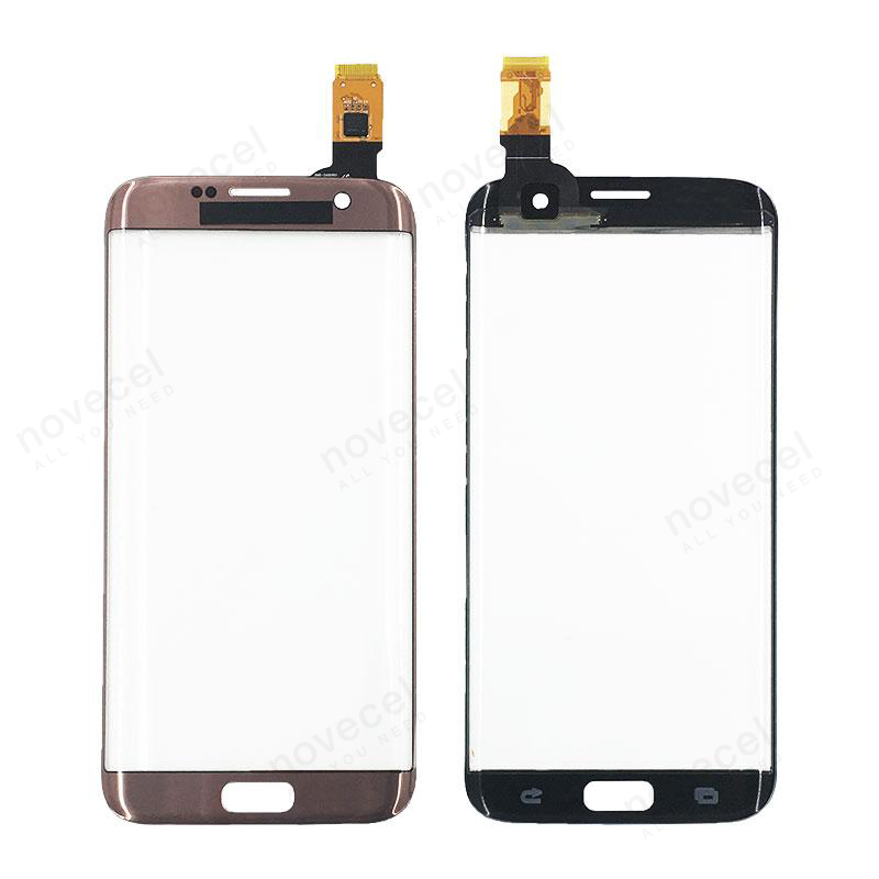 FOCUSR For Samsung Galaxy S7 Edge S7edge Front Touch Screen Panel Outer Glass Lens with Digitizer Touch Screen repair parts in Mobile Phone Touch Panel from Cellphones Telecommunications