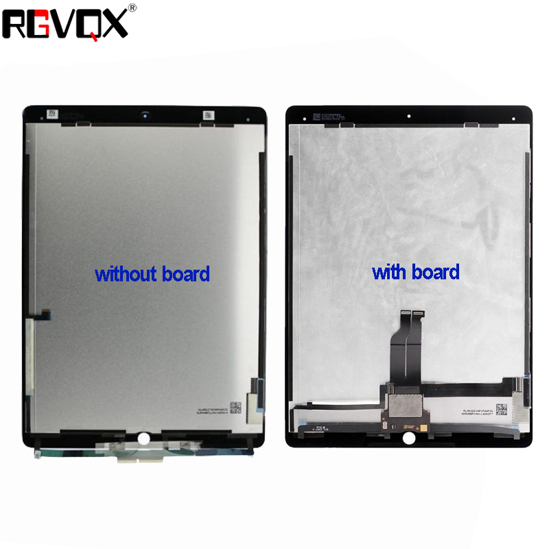 New Original Tablet For iPad Pro 12.9 LCD Assembly Screen Display Touch Panel A1652 A1584 Black White original new space grey silve laptop a1706 lcd assembly 2016 2017 for macbook pro retina 13 a1706 lcd screen assembly mlh12ll a