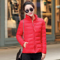 2017 New arrival women down jackets 5 colors solid color cotton women winter dames jassen Korean version all-match winter jacket