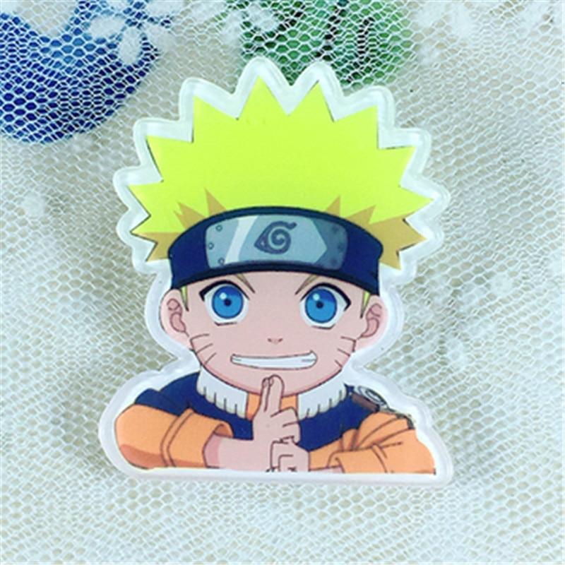 Toys & Hobbies 5 Pcs Kawaii Naruto Cosplay Badge Uchiha Sasuke Itachi Brooch Pin Hatake Kakash Cute Collection Badge For Backpack Clothes Toys Superior Materials