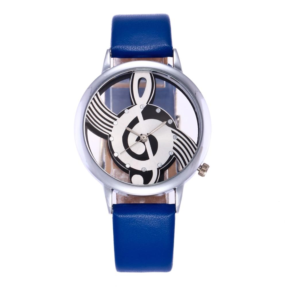 Exquise hoge kwaliteit lederen waterdicht horloge Top Fashion vrouwen - Dameshorloges - Foto 5