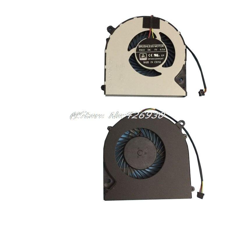 CPU GPU Fan For CLEVO N850HK N850HJ N850HL N855HJ N850HK1 N870HK1 CN85S02 CN85S01 DFS501105FR0T FG5B DFS551205WQ0T