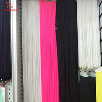 CHENGBRIGHT New 10Yard Long 100cm Ribbon Edge Fringed Trim African Accessories Stage Curtains Latin Dance Clothes Decoration Diy