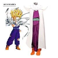 Dragon Ball Son Gohan Piccolo Lord Cosplay Costume White Cloak