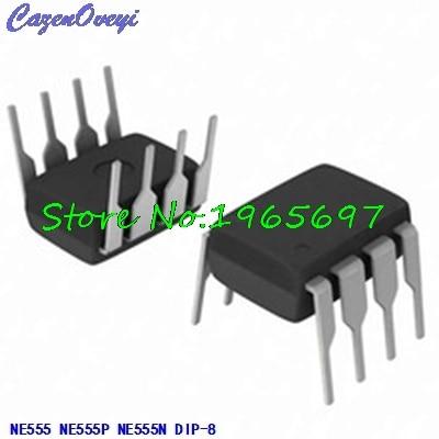 20pcs/lot NE555 NE555P NE555N 555 = UA555TC UA555 TS555IN TS555 NE555P NE555L DIP-8 In Stock