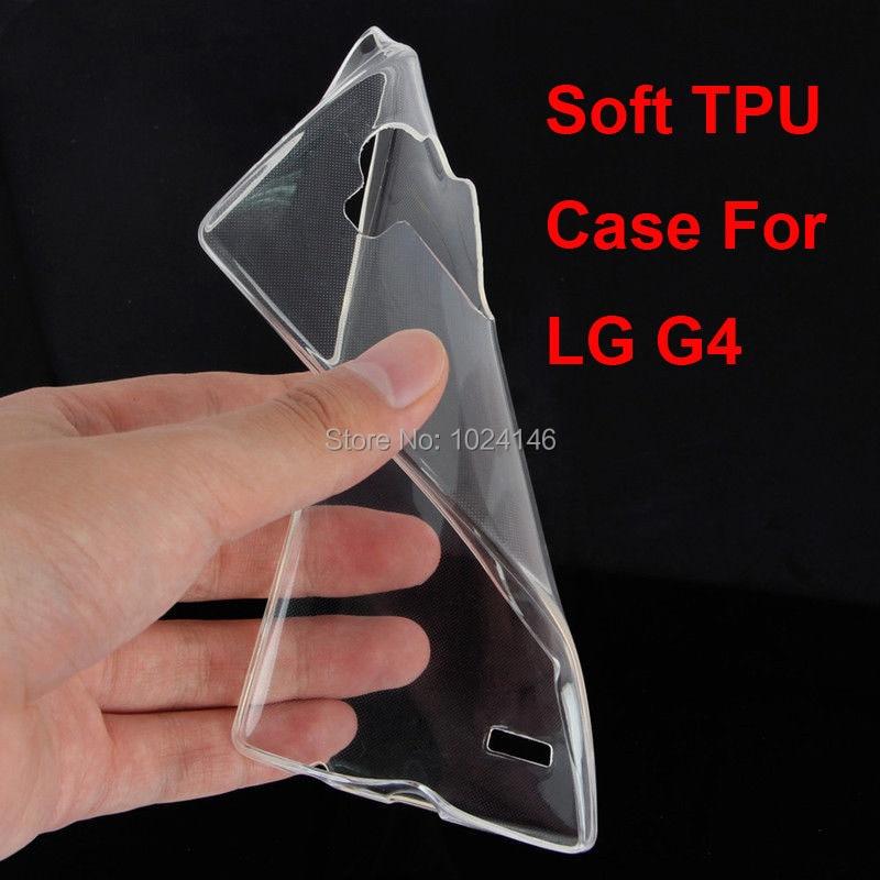 Новый тонкий кристалл прозрачный мягкой ТПУ задняя крышка защита кожи для LG G4 H815 H812 H810 H811 LS991 VS986 US991 5.5