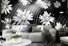 Пользовательские фото обои 3d для стен спальни гостиной стереоскопический