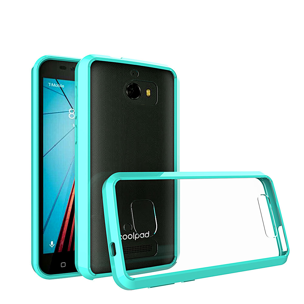 Hard Acrylic Back Soft TPU Transparent Clear Case For Coolpad Defiant 3632 Shockproof Ultra Thin Cover For CoolPad Defiant 3632@