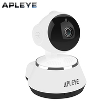 Apleye Wi-Fi ip-камера ИК-CUT ночного видения беспроводной сети панорамирования/наклона P2P радионяня камеры видеонаблюдения домашние Cam