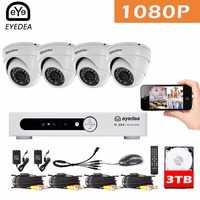 Mother S Day Eyedea 8CH Phone Monitor Email Alert DVR Recorder 1080P 5500TVL Dome Night Vision