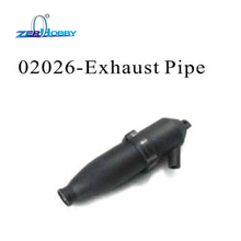 02026 RC CAR SPARE PARTS ACCESSORIES EXHAUST PIPE FOR HSP 1/10 NITRO RC CARS AND UPGRADE NO. 102009 ALUMINUM EXHAUST PIPE 02124