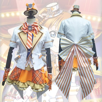 2018 New LoveLive! Card HR Kousaka Honoka Cosplay Costume Fancy Dress Adult Costumes Carnival/Halloween Costumes for Women S-XL 2