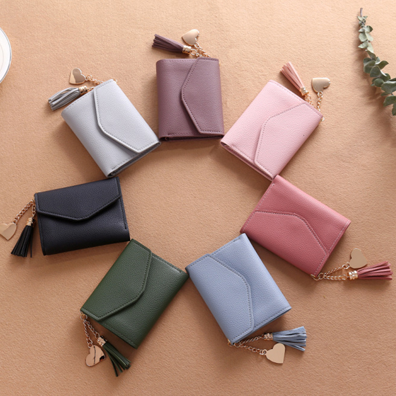 Wallet Women Fashion female wallet purse high quality guarantee coin pocket credit card holders small wallet new design ! Кошелёк