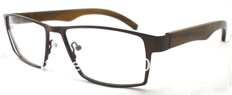oem manufactured wood optical framestainless steel eyeglasses full rim all ready glasses frame in eyewear frames from mens clothing accessories on - Wood Frame Glasses
