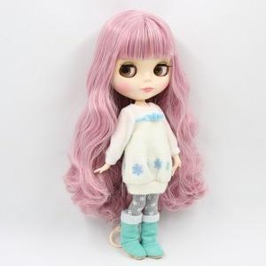 Image 5 - Fábrica 1/6 blyth boneca brinquedo bjd conjunto corpo mix rosa cabelo branco pele conjunta corpo presente 1/6 30cm 280bl1063/2352, boneca nua