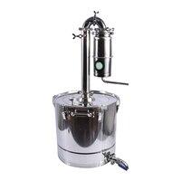 70L бытовой Нержавеющая Сталь Вино дистиллятор большой ёмкость водка чайник дистиллированный устройства алкоголь brew комплект Destilador самогон