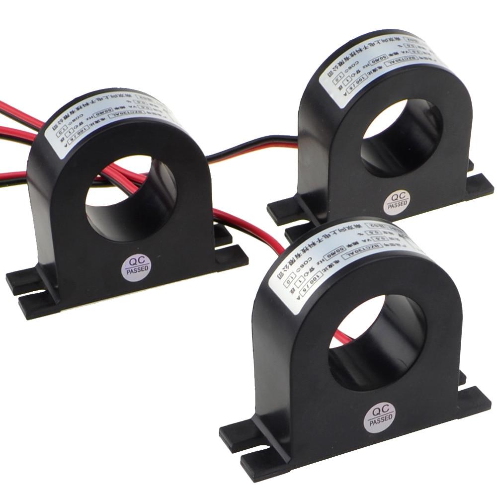 3 шт./лот новые мини 50A/5A 100A/5A 150A/5A трансформаторы переменного тока CTs 1,0 класс с номером трека 12001691