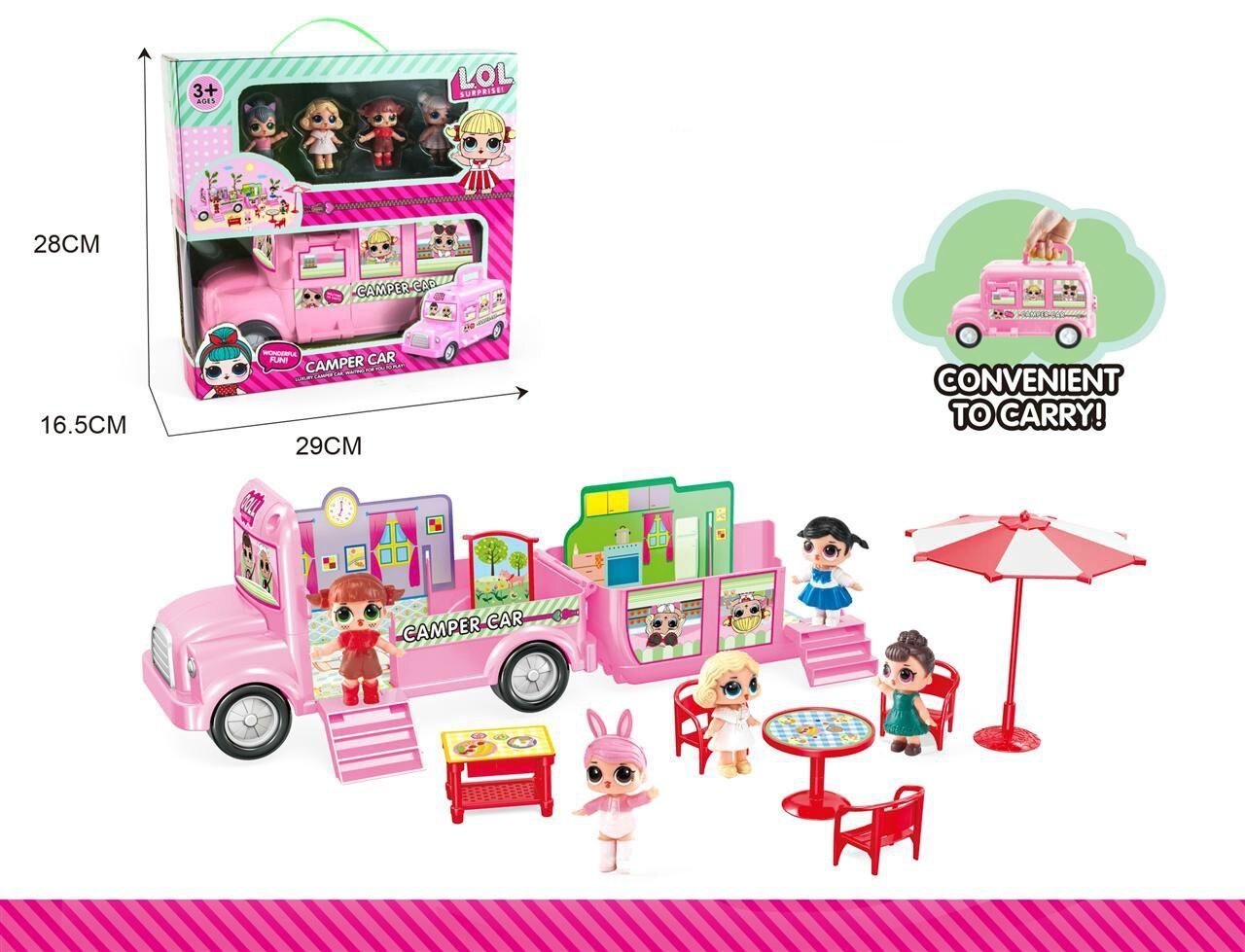 Lol poupée Surprise fille jouer maison jouet glace voiture avec boîte originale jouets pour enfants cadeau