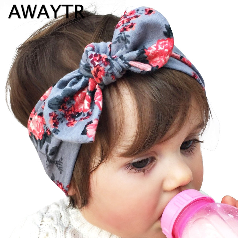 Girls Hair Accessories Easter Cute Bunny Bow Ears Printed Headwear Elastic Rubber Band Flower Headbands Kids Pop Ornaments halloween party zombie skull skeleton hand bone claw hairpin punk hair clip for women girl hair accessories headwear 1 pcs