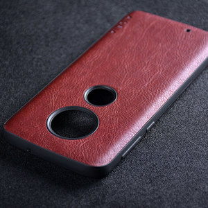 Image 5 - حافظة لهاتف موتورولا موتو G7 G6 G5S Plus funda حافظة جلدية فاخرة كلاسيكية نمط الليتشي كابا حافظة لهاتف موتو g7 g6 g5s plus