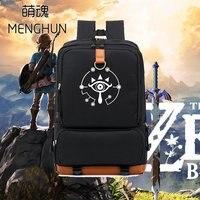 Big new game fans backpack Legend of Zelda nylon backpack Breath of wild NS game concept backpack big backpack for student NB208