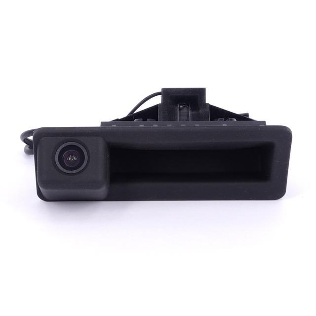 Colorful HD car Câmara de visão Traseira para E60 E61 E70 E71 E72 E82 E88 E90 E91 E92 E93 X5 X6 E84 X1 Parking assist alça tronco