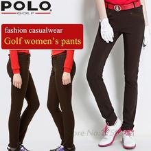 POLO New Golf Pants Women s Trousers High Elastic Thin Summer Clothes Casualwear