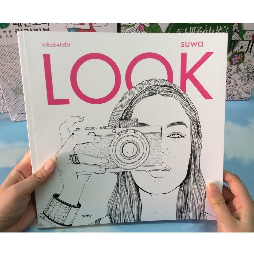 94 páginas moda look estilo del jardín secreto Libros para adultos ...