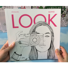 94 pagine bambini libri LOOK Giardino Segreto Libri Da Colorare Per adulti bambini Colouring Libro Libro di Pittura/Moda/colore/disegno Libro
